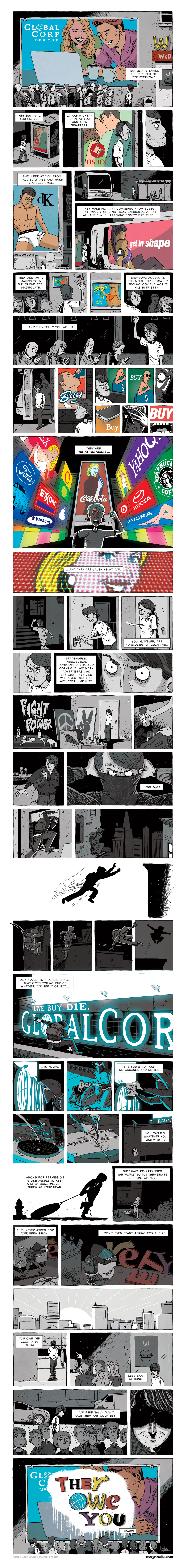 Zen Pencils - Bansky: Taking The Piss (Explicit)