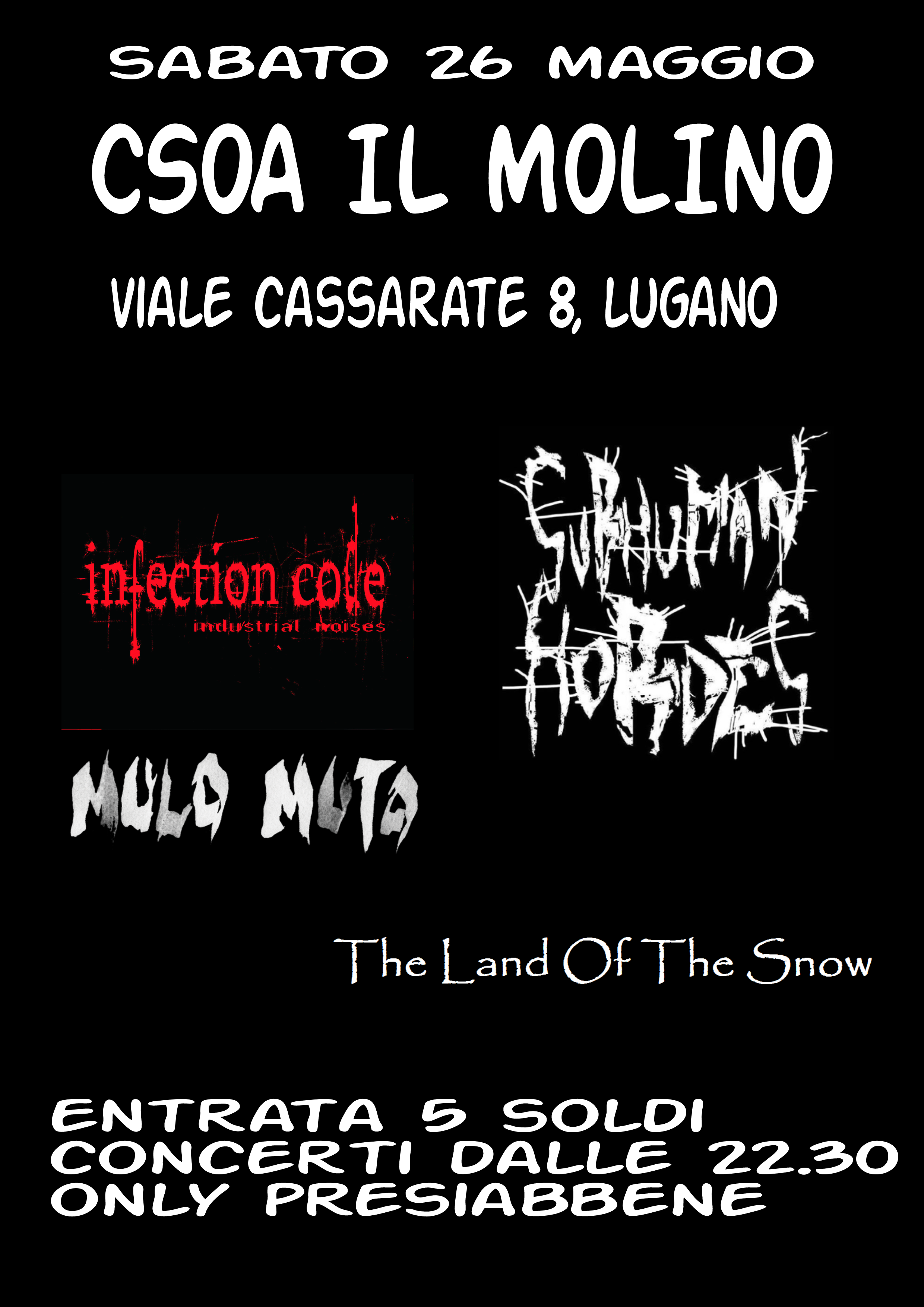 Infection Code, Subhuman Hordes, Mulo Muto, The Land Of The