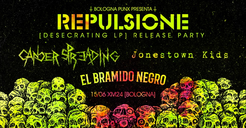 Repulsione 'Desecrating' LP Release Party