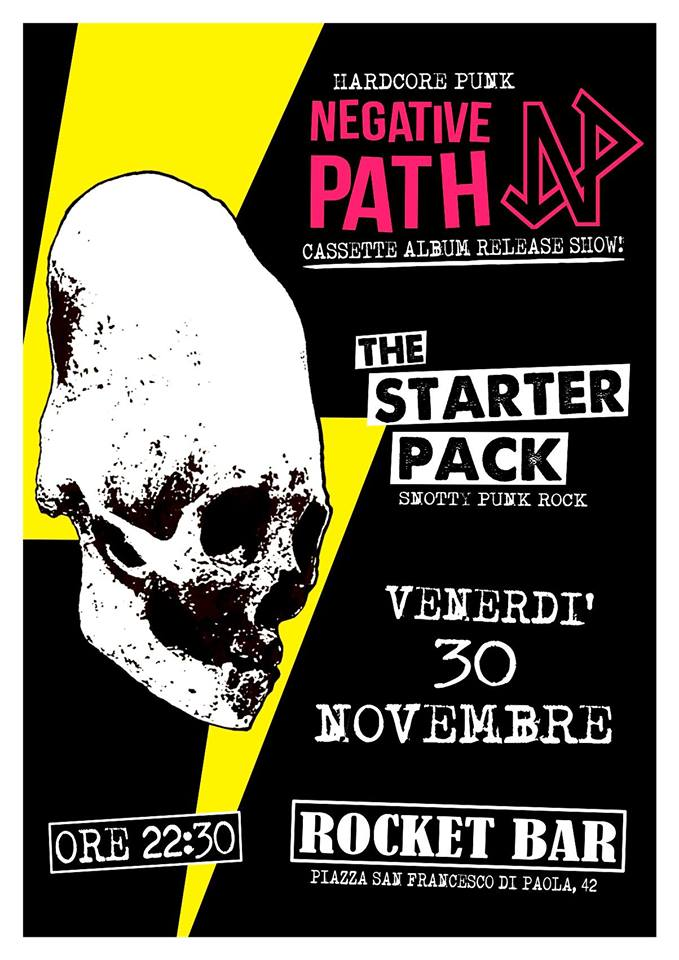 An Hardcore Punk Night with: Negative Path The Starter Pack