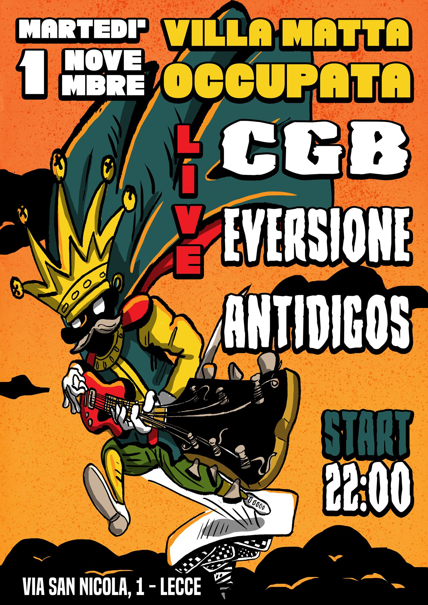 CGB,Eversione,Antidigos