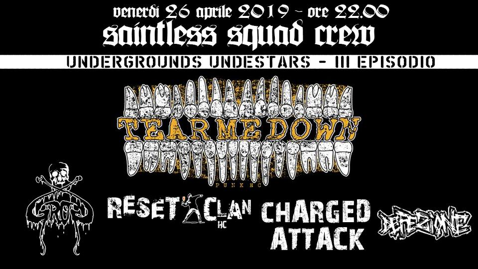 Tear Me Down+Reset Clan+GroG+Charged Attack HC+Defezione