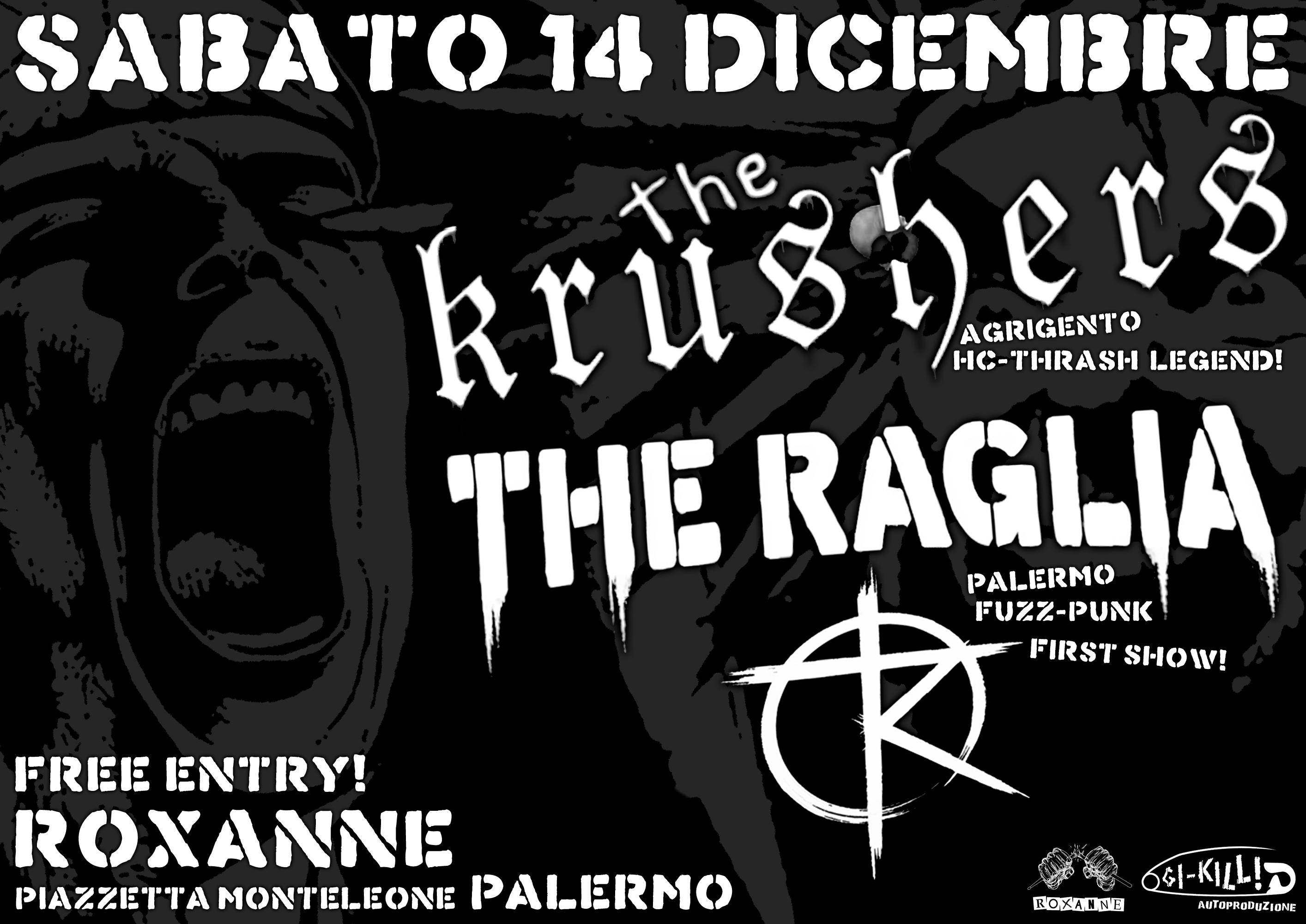 The Krushers + The Raglia