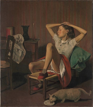 Balthus - Therese Dreaming