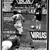 28 Marzo 1987 Virus Piazza Bonomelli Crash Box - Excruciation - Rigor Mortis (Grafica Stiv Rottame)