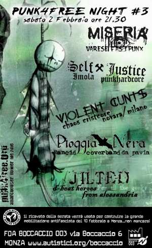 Punk4Free Night #3 - [2008] Live At FOA Boccaccio